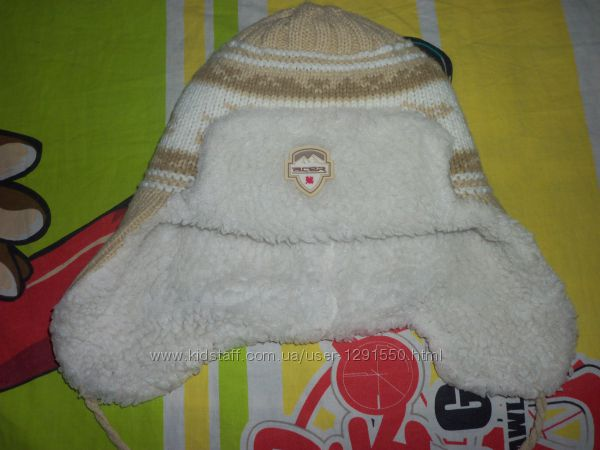 Зимняя шапочка на мальчика 3-6 лет