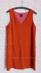яркое платье прямого кроя H&M