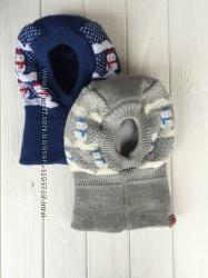 Шапка -шлем для малышей утепленная пр. Польша