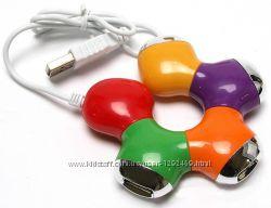USB HUB Трансформер 4-х портовый