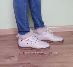 Кожаные ботинки полуботинки Mary Ann 37 р. Италия