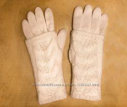 Перчатки с митенками