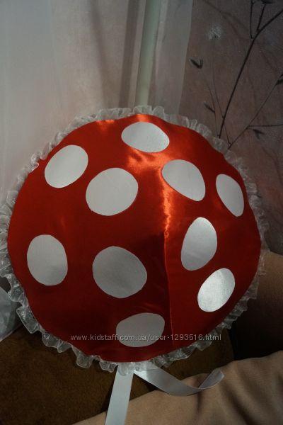 Карнавальная шапка шляпа костюм гриба, мухомора