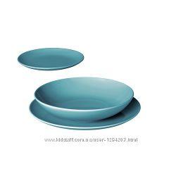Сервиз 18 предметов Fargrik 4 цвета IKEA 702. 477. 10