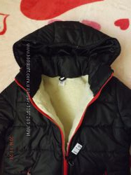 Женская зимняя куртка на овчине р-р 50-52