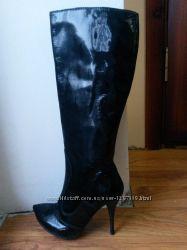 Мегакрутые кожаные итальянские сапоги от Paolo Conte по закупке