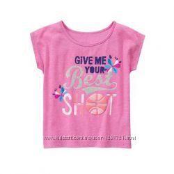Gymboree gymgo Спортивная футболка для девочки XXS 2Т