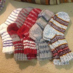 Продам вязанные носки