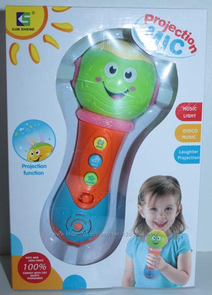 Детский игровой микрофон, в коробке