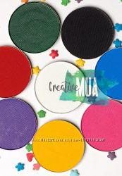 Аквагрим  матовый цветной COLORDANCE черный, белый, красный, зеленый, синий