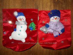 Новогодний мешочек-игрушка для подарков