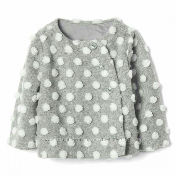 Пальто, размер 6-12 месяцев, демисезонное, жакет, BabyGap.