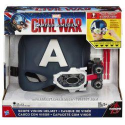 Marvel Captain America Civil War scope vision helmet Hasbro Капитан Америка