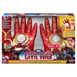 Перчатки АйронменMarvel Captain America Civil War Iron Arc FX Gloves Hasbro