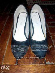Туфли женские 38-38, 5 р. черные