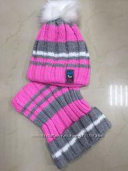 Яркие теплые комплекты для девочек. Фабричная Польша