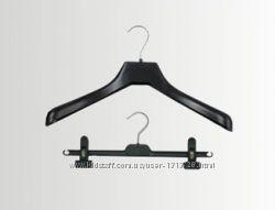 Вешалки, плечики, тремпеля для верхней одежды. Металлический крючок