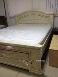 Ліжко в класичному стилі дубове
