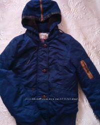 Куртка теплая фирмы оnly. sm разм.
