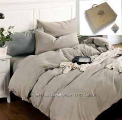 Комплект льняного постельного белья