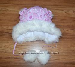 Зимняя шапочка на девочку. Распродажа