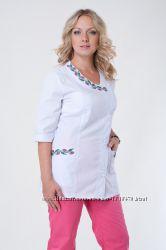 Женский медицинский костюм Венеция, хб, котон, батист
