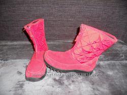 Ботинки LandsEnd, замша, 36 размер