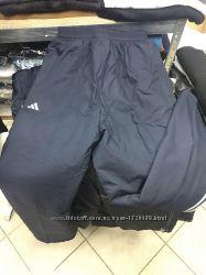 Мужские, спортивные, тёплые брюки на флисе. Тёмно-синего цвета