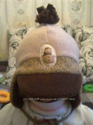 Демисезонная шапочка весенняя, осенняя шапка