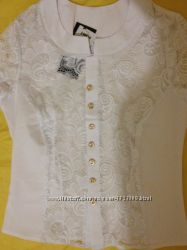Блузка ажурная