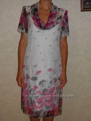 Летнее платье р. 50-52