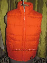 H&M желетка жилетка кирпичного цвета 164 рост M-L