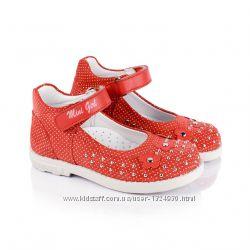 Туфельки для девочки Minimen Турция р. 26, 28