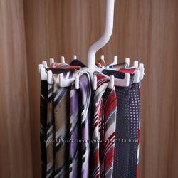 Вращающаяся вешалка для галстуков и ремней