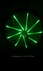 Подсветка велосипеда . креативная подсветка на вело