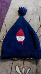 шапка со снеговиком