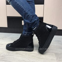 Женские ботинки лёгкая зима