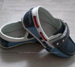 Мокасины туфли для мальчика 26 размер