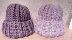 Новая шапка oversize hand made