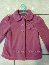 Детское флисовое пальто, куртка F&F на девочку