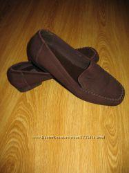 Новые туфли лоуферы слипоны Marks&Spencer, нат. кожа, Англия, р. 37-37. 5