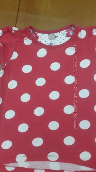 футболка для девочи 110см