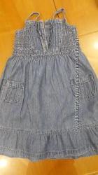 Сарафан джинсовый на 116 см