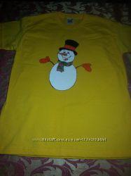 Новогодняя футболочка