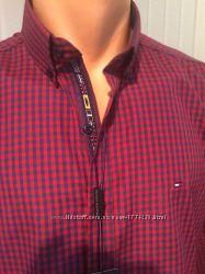 Tommy Hilfiger 2018 стильные креативные мужские рубашки, Новые