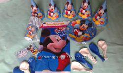 Оформительный набор для детского праздника Микки Маус