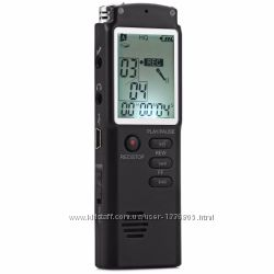 MENGS T60 цифровой диктофон 8гб mp3-плеер 1, 6  ЖК дисплей