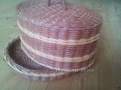 Хлебница плетёная