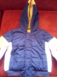 Куртка весенне-осенняя на флисе