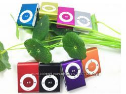 Акция MP3 плеер в стиле iPod Shuffle  наушники  кабель  коробка